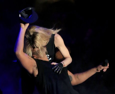 Drake and Madonna Kiss Coachella 15