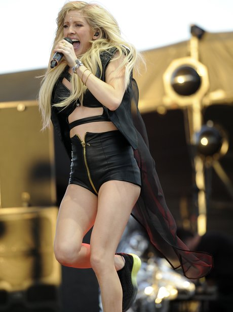 Ellie Goulding at Coachella Festival 2015