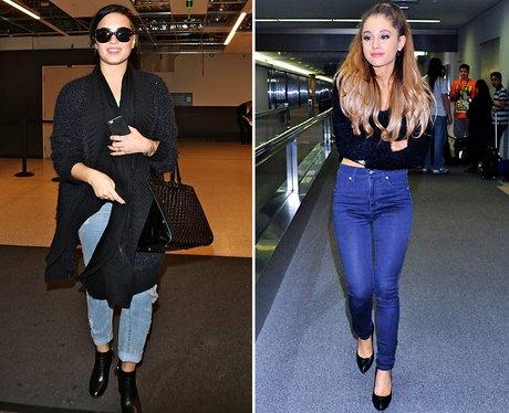 Fashion Face Off: Demi Lovato V. Ariana Grande