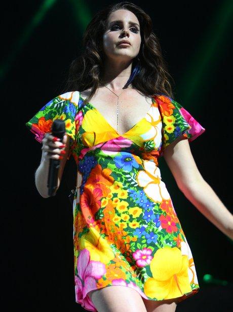 Lana Del Rey at Coachella Festival 2015
