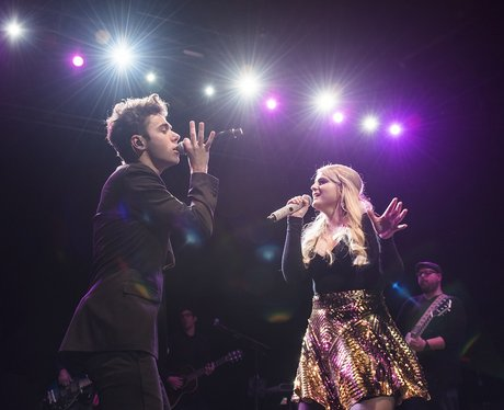 Nathan Sykes and Meghan Trainor