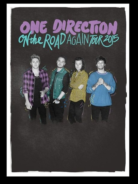 One Direction New Tour Poster