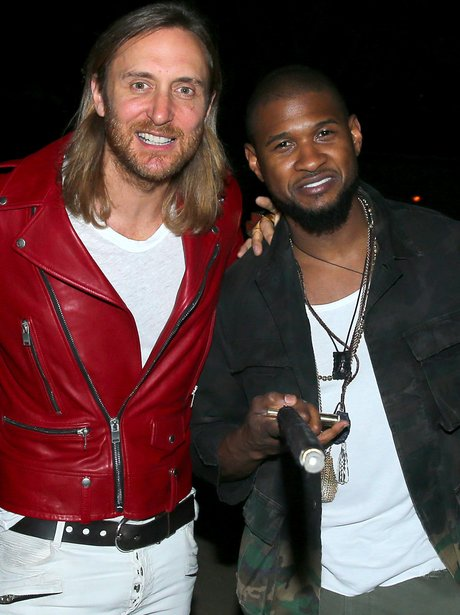 Usher and David Guetta Coachella 2015