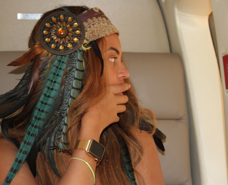 Beyonce iwatch