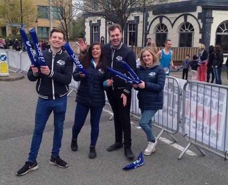 Capital FM at the Manchester Marathon Part 1.