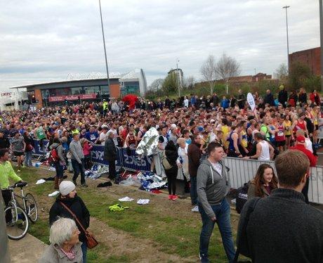 Capital FM at the Manchester Marathon Part 2.