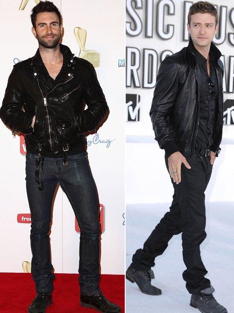 Fashion Face Off: Justin Timberake V. Adam Levine