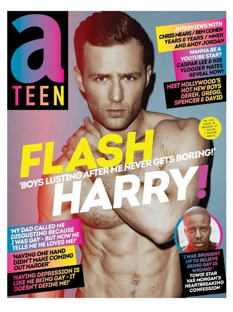 Harry Judd aTeen Magazine 2015