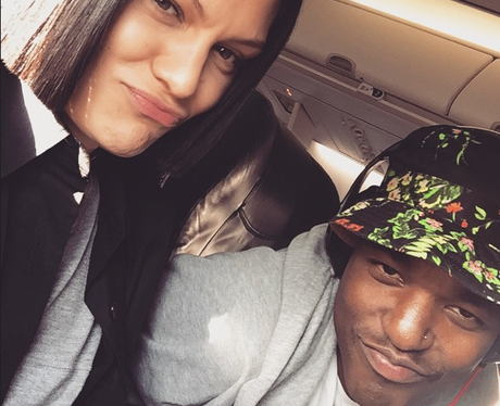 Jessie J and Luke James Instagram
