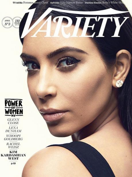 Kim Kardashian Variety Magazine