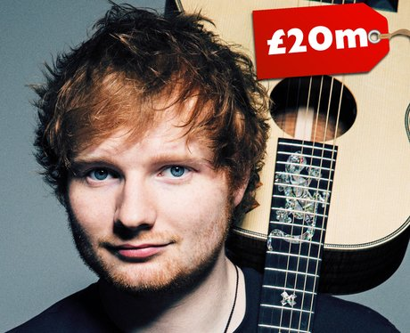 richest young musicians in the UK 2015