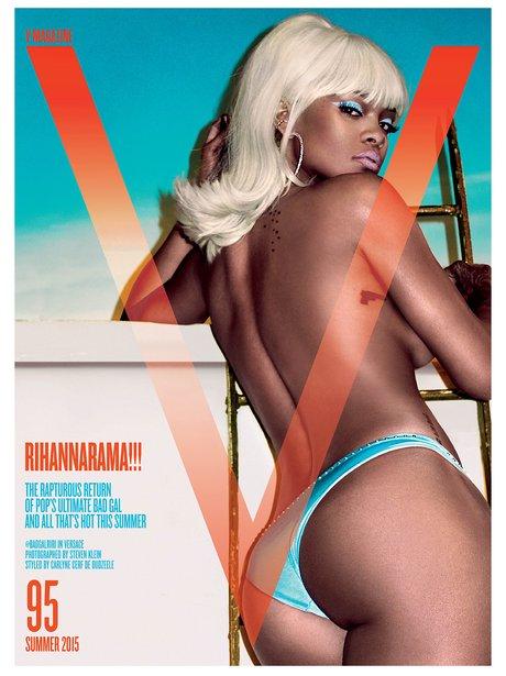 Rihanna Cover V Magazine May 2015