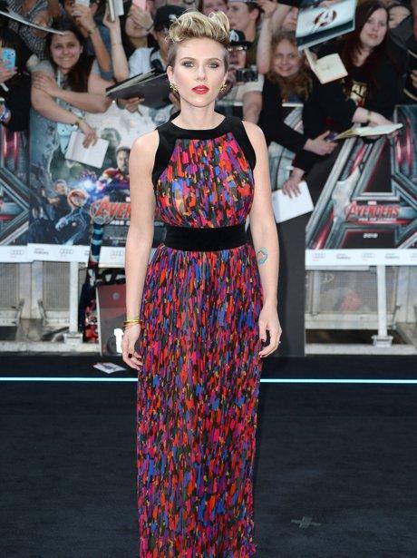 Scarlett Johansson Avengers Premiere