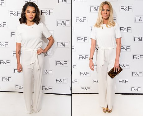 Who Wore It Best: Vanessa White or Sarah Harding