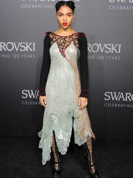 FKA Twigs at Swarovski event