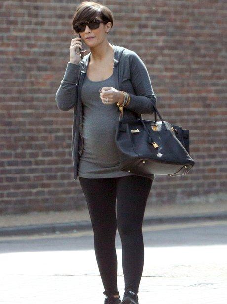Frankie Sandford Baby Bump