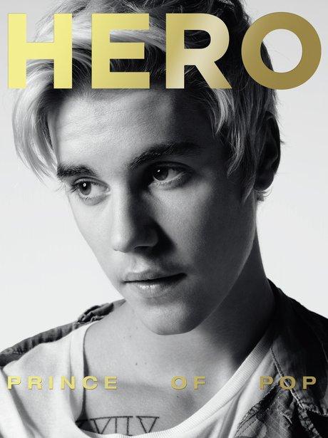 Justin Bieber Hero Magazine 2015
