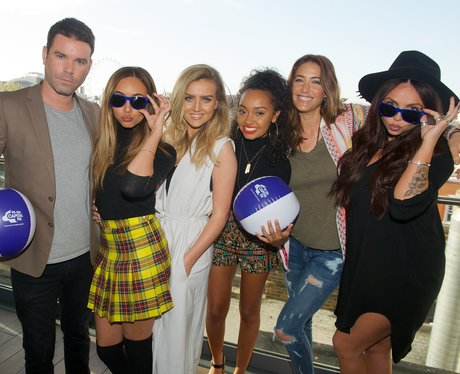 Little Mix With Dave and Lisa