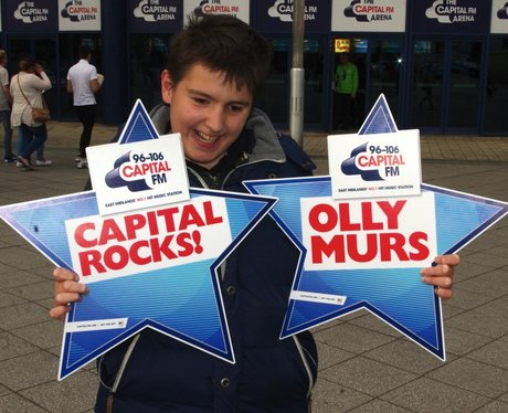 Olly Murs @ Capital FM Arena - Thursday