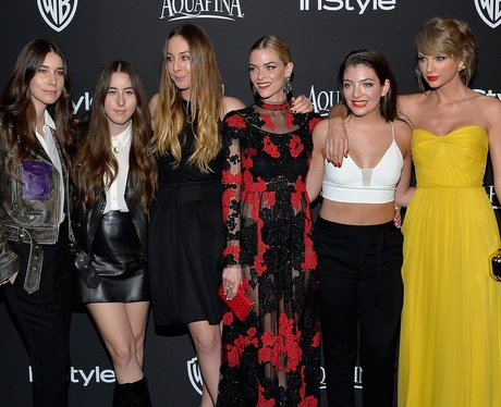 Taylor Swift, Lorde and Haim