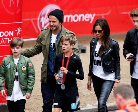 The Beckhams Marathon 2015