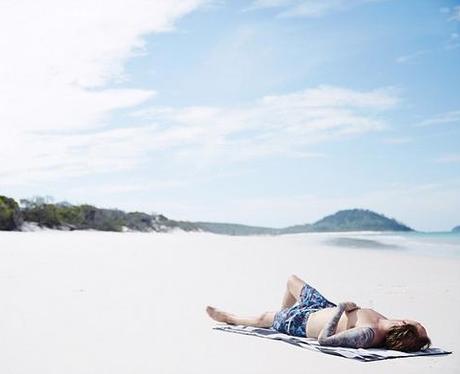 Avicii on a beach in Jakarta