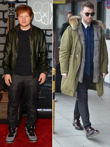 Fashion Face Off: Sam Smith V. Ed Sheeran