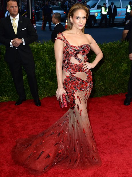 Jennifer Lopez MET Gala Ball 2015