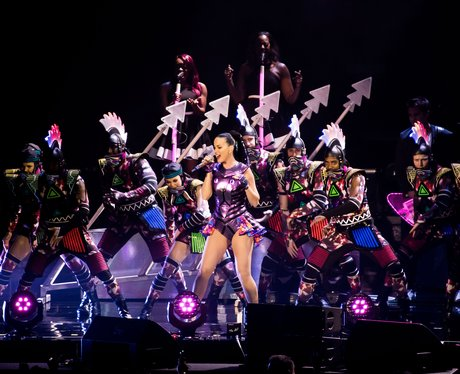 Katy Perry performs in Macau during her Prismatic world tour