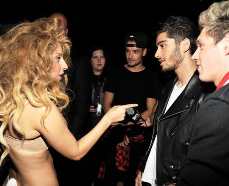 Lady Gaga and One Direction