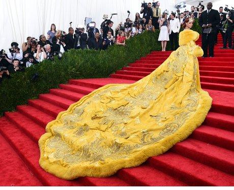 Real Life Disney Princess Rihanna Rocked A Coat Even Belle Would