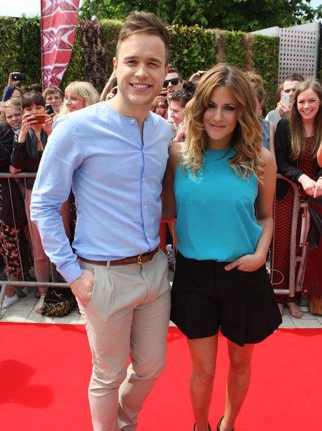 Olly Murs Caroline Flack X Factor Auditions 2011