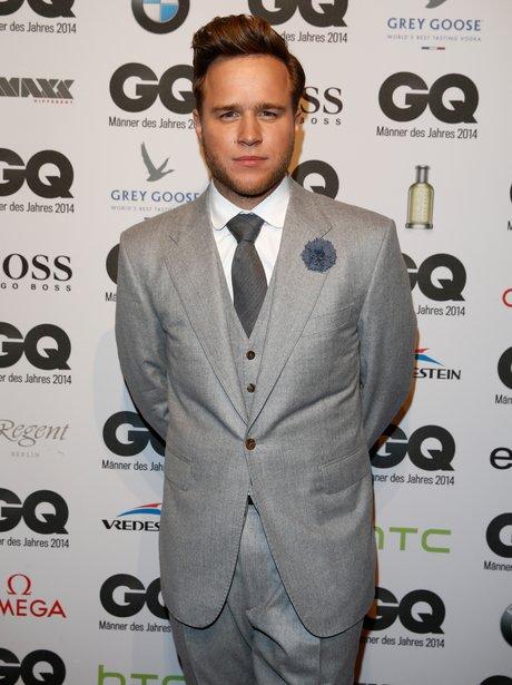 Olly Murs GQ Awards 2014