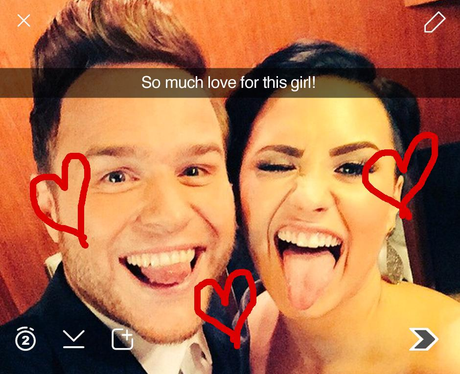 Olly Murs Snapchat 5 (not real)