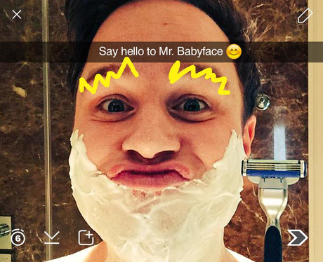 Olly Murs Snapchat 7 (not real)