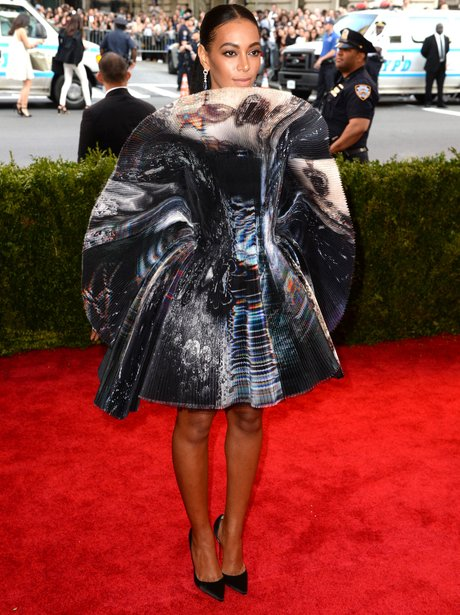 Solange Knowles MET Gala Ball 2015