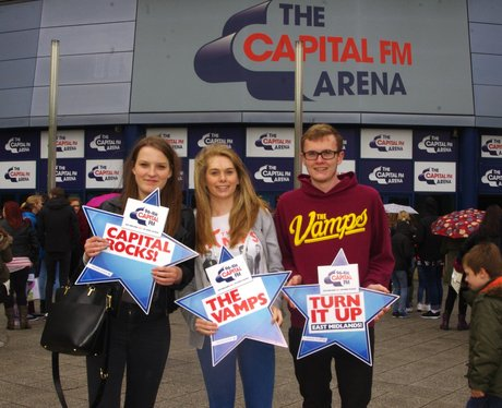The Vamps @ The Capital FM Arena