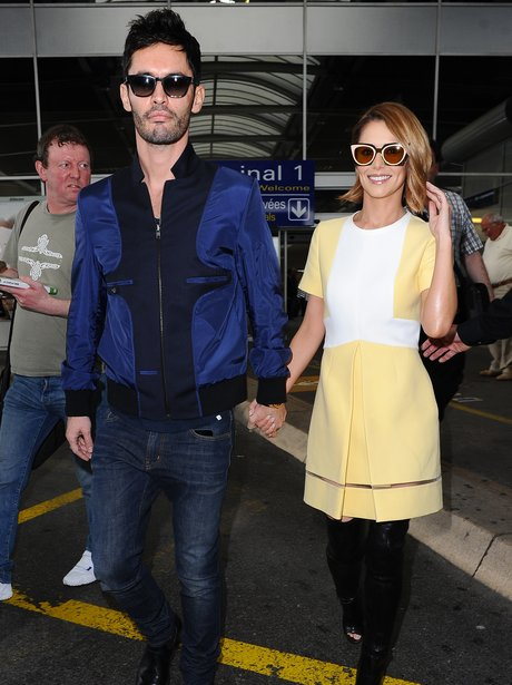 Cheryl Fernandez-Versini and husband Jean-Bernard