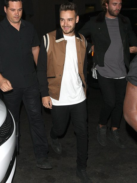 Liam Payne on a night out