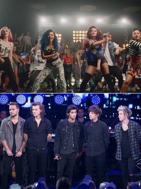 Little Mix V. One Direction