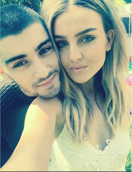 Perrie Edwards and Zayn