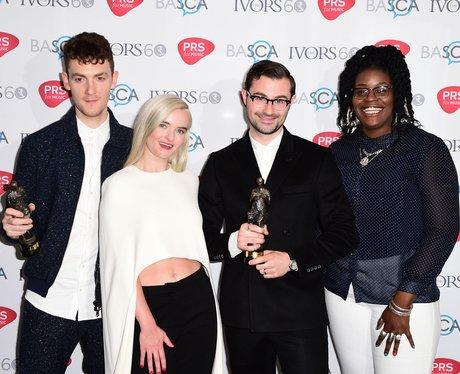 Clean Bandit Ivor Norvello Awards 2015