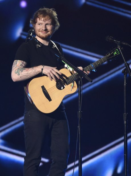 Ed Sheeran Billboard Music Awards 2015 Performance