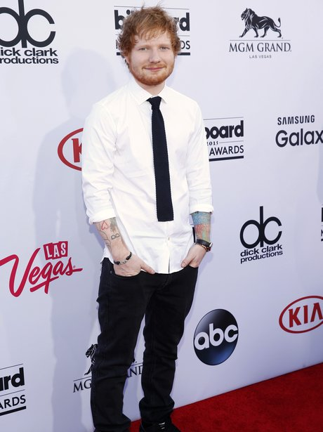 Ed Sheeran Billboard Music Awards 2015 Red Carpet
