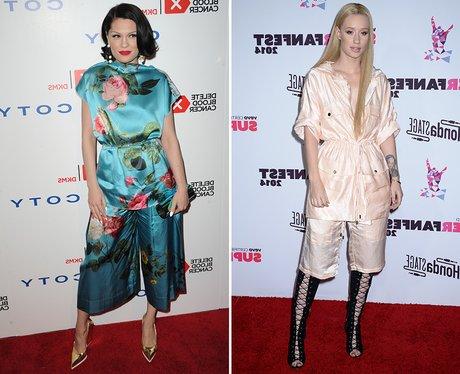 Fashion Face Off: Jessie J V. Iggy Azalea