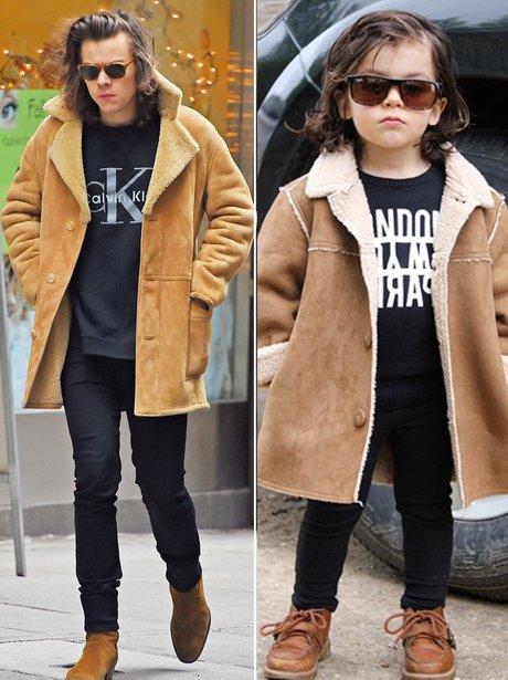 Harry Styles Baby Lookalike