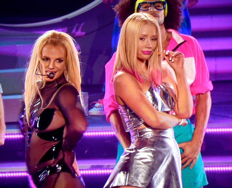 Iggy Azalea and Britney Spears Billboard Awards