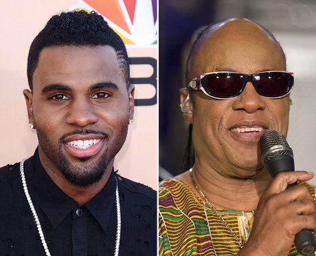 Jason Derulo and Stevie Wonder