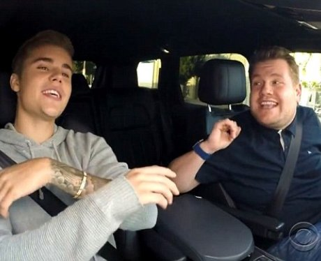 Justin Bieber james corden