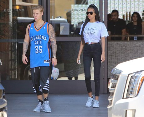 Justin Bieber and Jayde Pierce